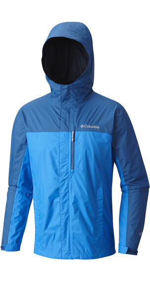Columbia Pouring Adventure II Jacket Men hyper blue/marine blue